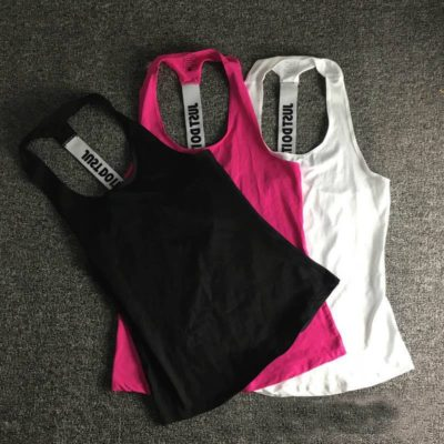 "Women's vests ""Just Do It"""