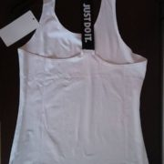 "Women's vest ""Just Do It"" - white"