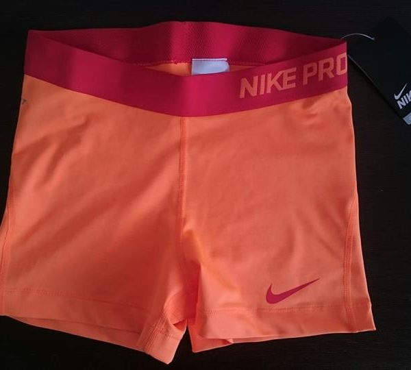 "Sporting shorts ""Nike Pro Compression Supercool"" - light orange"