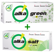 Food additives Alkagreen and Alkasalt