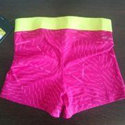 """Спортни гащета """"Nike Pro Compression Supercool"""" - розово с розови ленти"""