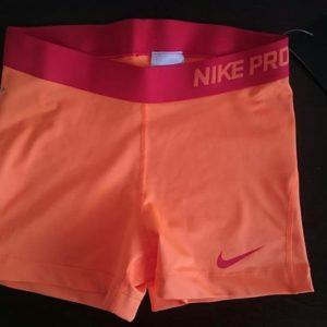 """Спортни гащета """"Nike Pro Compression Supercool"""" - светло оранжево"""