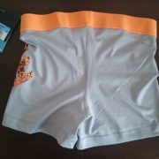 """Sporting shorts """"Nike Pro Compression Supercool"""" - gray with orange label"""