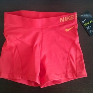 """Sporting shorts """"Nike Pro Compression Supercool"""" - red"""