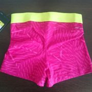 """Sporting shorts """"Nike Pro Compression Supercool"""" - pink with pink ribbons"""